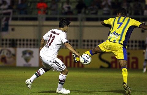 Rafael teve bom papel no meio do Galo Foto: Nelson Perez/ Divulgação Fluminense